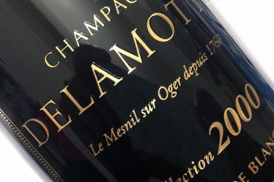 degustazione champagne delamotte collection 2000
