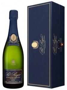 bottiglia champagne Cuvée Sir Winston Churchill