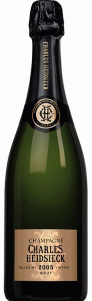 bottiglia degustazione charles heidsieck 2005