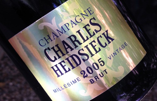 charles heidsieck 2005