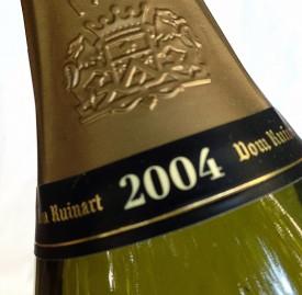 champagne Dom Ruinart 2004