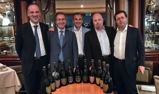 Stefano, Roberto, Marco, Alberto (il sottoscritto) e Orazio.