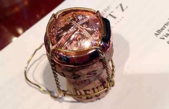 capsule della bottiglia amour de deutz