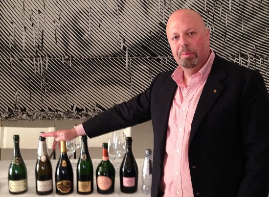 Alberto Lupetti, docente corso Champagne