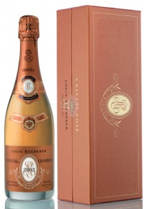 bottiglia Cristal Rosé 2002