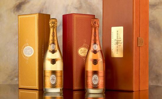 i due Cristal, classico e rosé