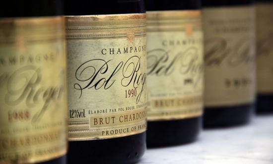 Brut Blanc de Blancs Vintage Pol Roger in Verticale