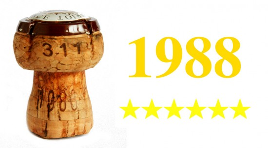 champagne anno 1988