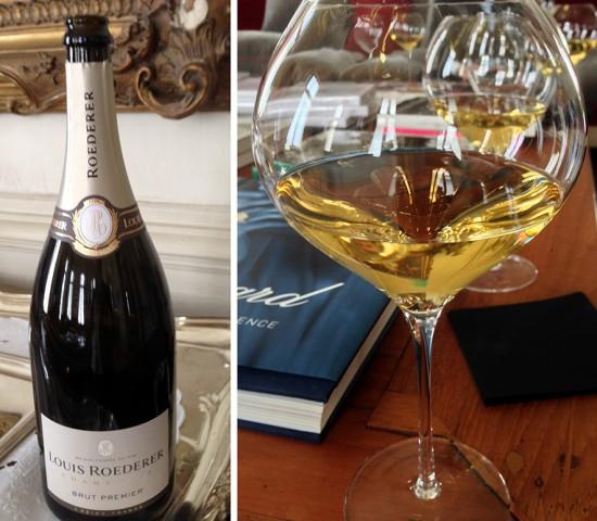 magnum champagne Brut Premier