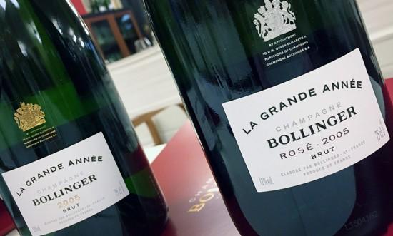 La Grande Année 2005 e Rosé 2005, Bollinger