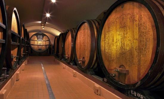 vins de réserve conservati in botte