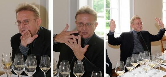 Degustazione con Richard Geoffroy