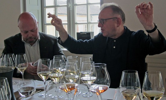 Alberto Lupetti e Richard Geoffroy