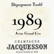 Jacquesson Avize 1989 Dégorgement Tardif