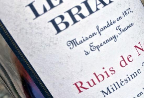 champagne Rubis de Noirs 2006 rosé