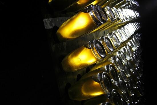 rémuage champagne cristal