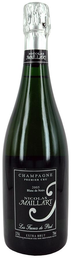 Champagne Maillart Les Francs de Pied 2005