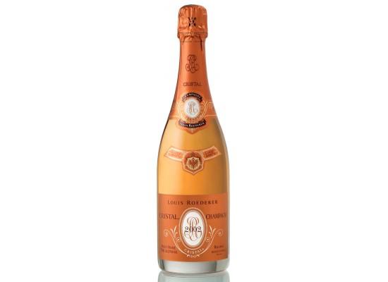 champagne louis roederer cristal rosé 2002