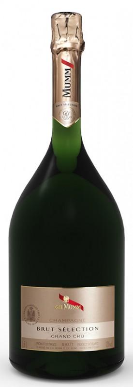 Bottiglia di champagne Mumm Brut Sélection