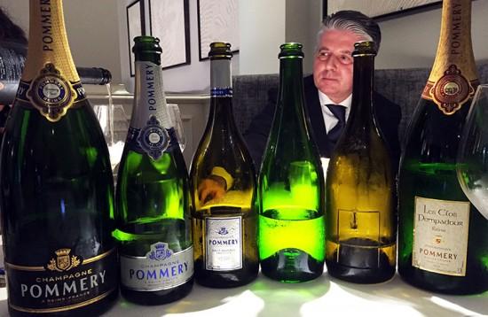 Degustazione champagne Pommery