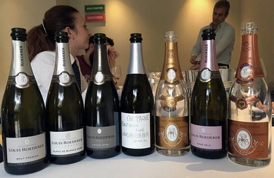 Degustazione champagne Louis Roederer