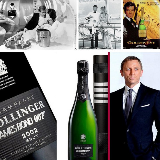 Bollinger lo champagne di James Bond