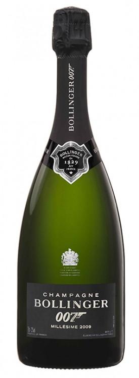 Bottiglia champagne Bollinger 007 Millésime 2009