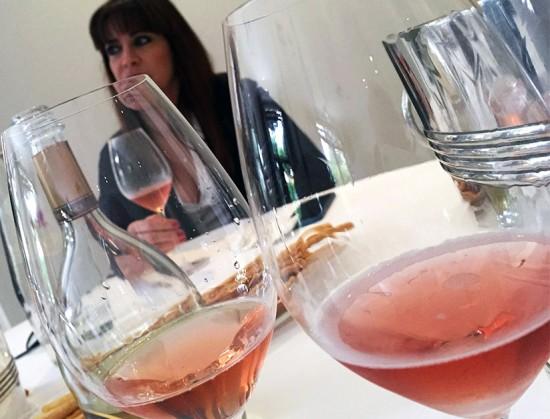 Degustazione champagne con Alessia Occhipinti e i bicchieri Riedel
