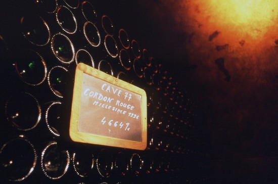 champagne mumm collection du chef de cave