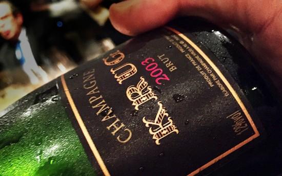 Champagne Krug Vintage 2003