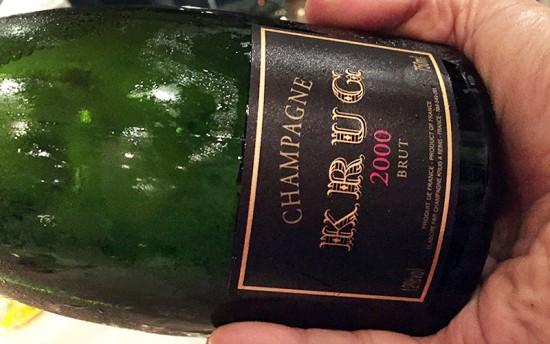 Champagne Krug Vintage 2000