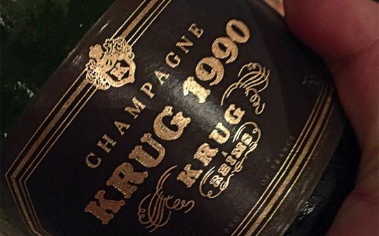 Champagne Krug Vintage 1990