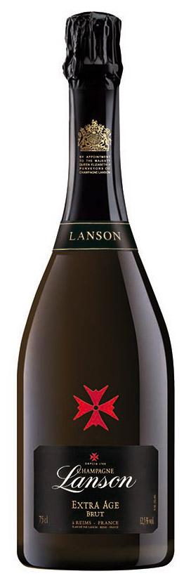 Bottiglia champagne Lanson Extra Age