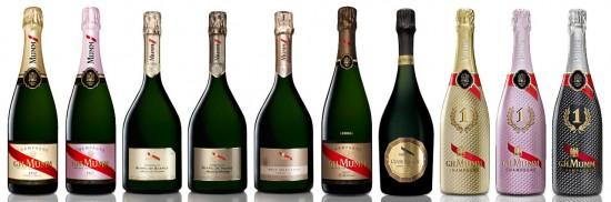 Mumm Masterclass: Le bottiglie