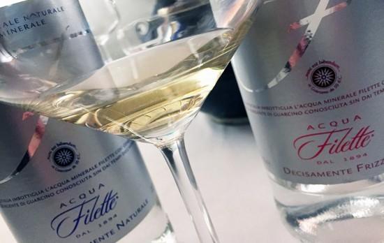 Acqua Filette e champagne