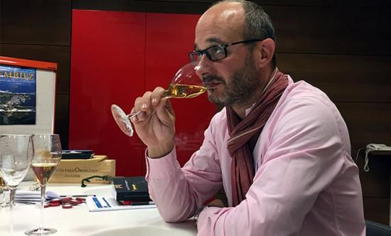 Didier Mariotti chef de cave Mumm; degustazione champagne