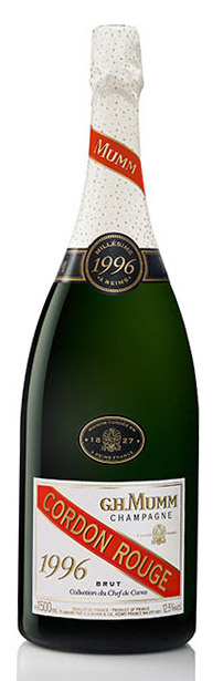 Bottiglia Mumm Collection du Chef de Cave 1996