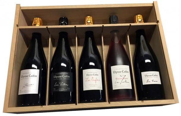 Ulysse Collin champagne box