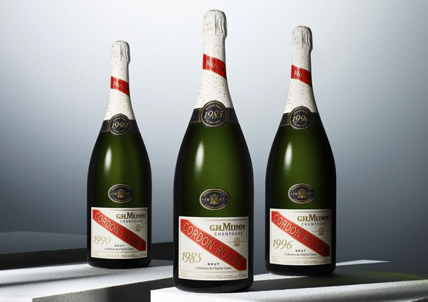 Le tre annate Collection du Chef de Cave di Mumm