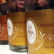 Bottiglie champagne Cristal