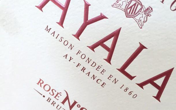 Etichetta Ayala Rosé N°8
