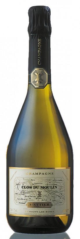 Bottiglia di champagne Cattier Clos du Moulin
