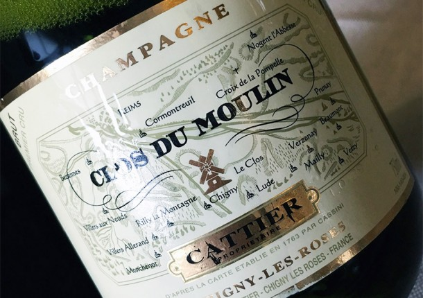 Champagne Cattier Clos du Moulin
