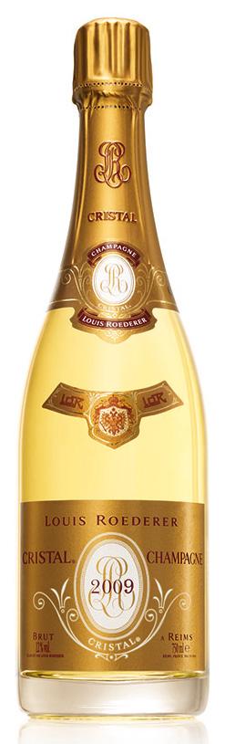 Bottiglia Cristal 2009