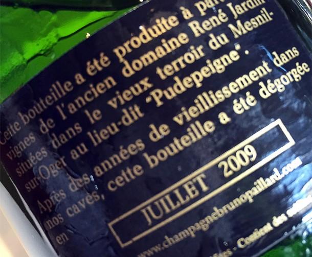 Controetichetta Le Mesnil 1987