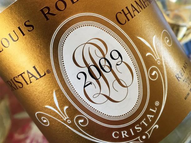 Champagne Cristal 2009 in degustazione