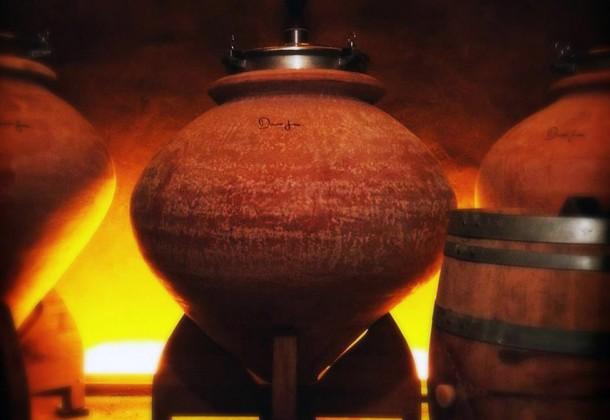 Henri Girard: terracotta in cantina al posto dell'acciaio.