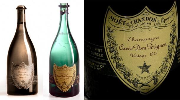 Dom Pérignon, il primo targato 1921, l'eccellente Vintage 1928 e il Vintage 1947