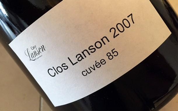 Clos Lanson 2007