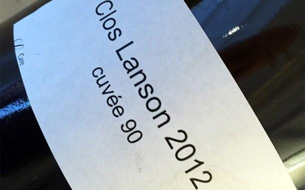 Clos Lanson 2012